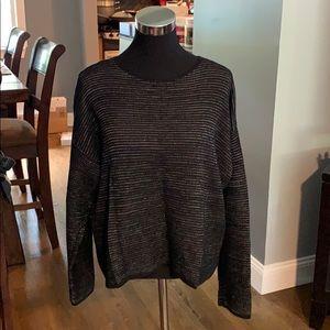 Eileen Fisher Sweater Silk, Linen & Cotton